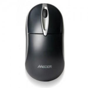 Mecer Optical Wheel PS2 Mouse - Ivory / Black