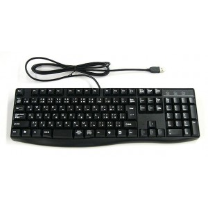 Astrum Ultra flat mini USB keyboard 1.5m Cable