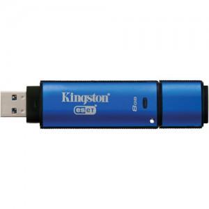 Kingston 8GB DataTraveler Vault Privacy 3.0 USB Flash Drive with Anti-Virus