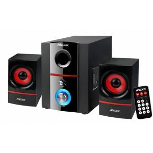 Mecer 2.1 Channel Amplified Speaker (800W P.M.P.O.) - Black