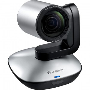Logitech VC - PTZ camera, built in speaker