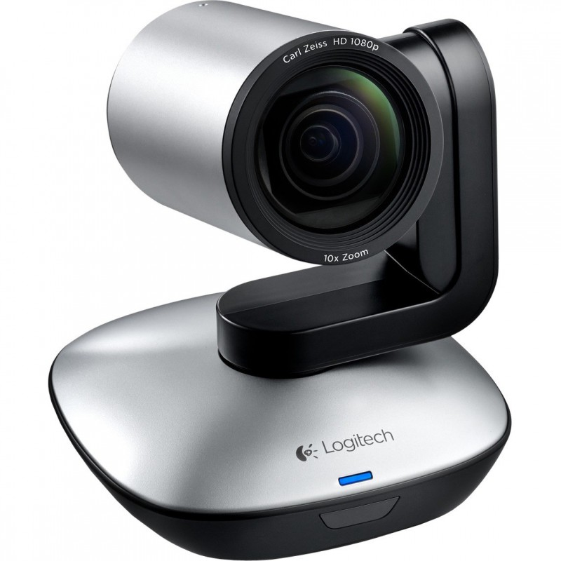 logitech vc ptz camera, built in speaker, two way audio