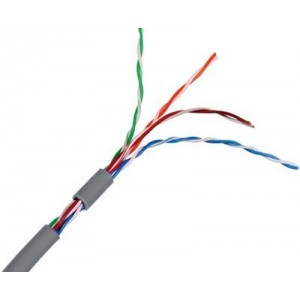 Link 305M CAT5E Solid Box Cable