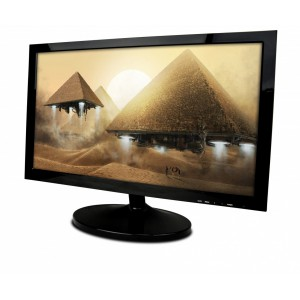 Mecer 23.6'' Full HD 1920X1080 LED Monitor - Black