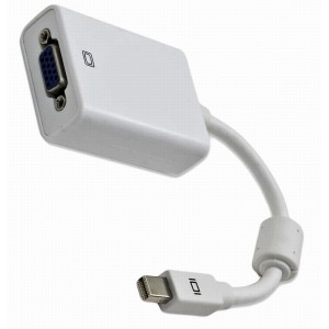 ACTIVE ADAPTER MINI DISPLAY PORT - VGA WHITE