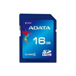 ADATA SD HC CLASS 4 16GB