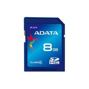 ADATA SD HC CLASS 4 8GB