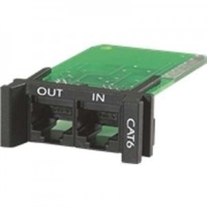 APC PNETR6 Surge Module for CAT6 or CAT5/5e Network Line, Replaceable, 1U, PRM4 PRM24