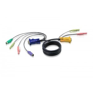 ATEN 3M KVM PS2 & HD15 CABLE FOR CS1754,CS1758