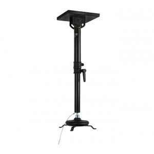 B-Tech Projector Ceiling Mount with Medium Drop- 10kg Max