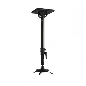 Universal Projector Ceiling Mount with Long Adjustable Drop - 10kg Max