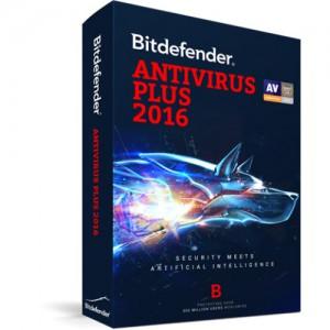 BITDEFENDER 2016 - ANTIVIRUS 3 USER