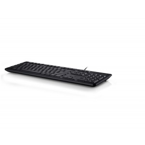 Dell Keyboard : US/European (QWERTY) Dell KB212-B Win 8 QuietKey USB Keyboard Black (Kit)