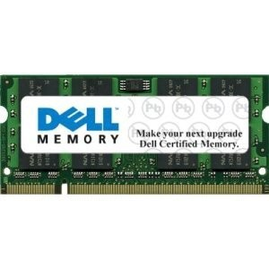 Dell Memory - 2 GB Module For Selected Dell Systems - DDR3-1333 SODIMM 2RX8 Non-ECC