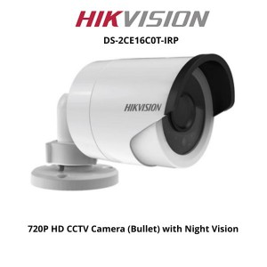Hikvision DS-2CE16C0T-IRP HDTVI 720P IR Bullet Camera
