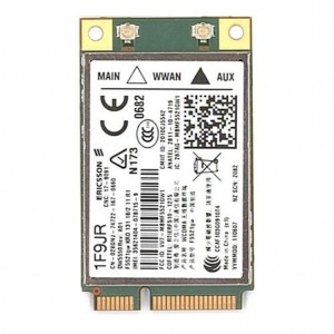 Dell Mobile Broadband : Internal Dell Wireless 5550 Card 3G/HSDPA, SIM not included