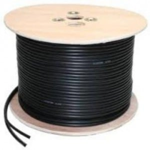 COMMERCIAL COAXIAL + 0.65 POWER - 500M CABLE