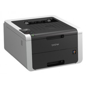 Brother High Speed Colour LED Duplex Printer with wired network capability (3YR onsite)