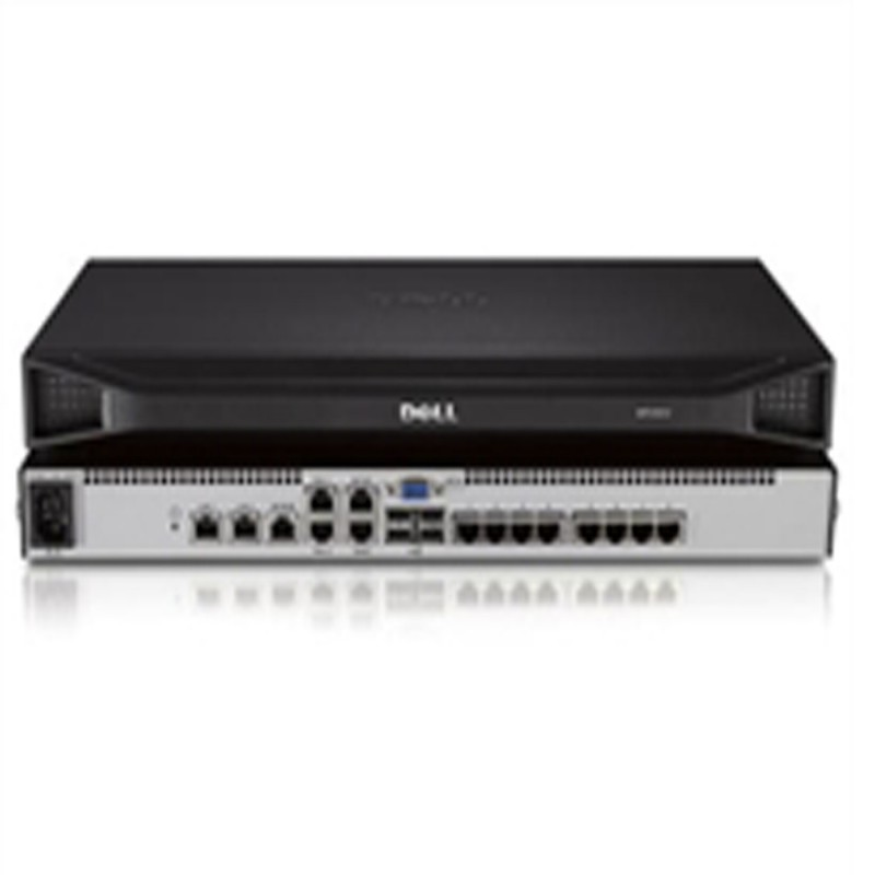 Dell DMPU108e 8-Port Remote KVM Switch with One Remote, One Local User, Single Power Supply