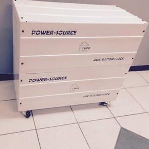Battery Box with wheels - Bottom Rack