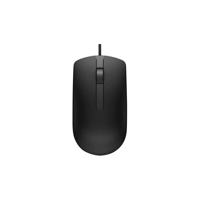 221cb885cb4 Dell MS116 Optical Mouse-Cable - Black - USB 2.0 - 1000 dpi - Scroll ...
