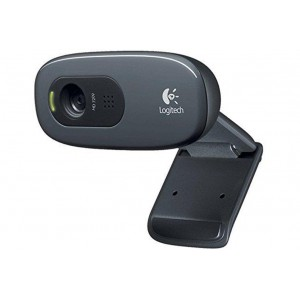 Logitech 960-001063 C270 HD Webcam (Black)