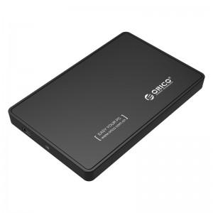 Orico 2.5'  USB2.0 External Hard Drive Enclosure Black (2588US-V1-BK)