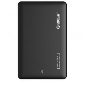 Orico 2.5' USB3.0 External Hard Drive Enclosure Black (2599US3-V1-BK)