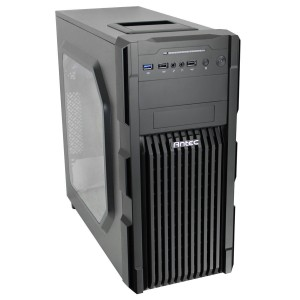 Antec GX200 With Window Chassis - Black (GX200)