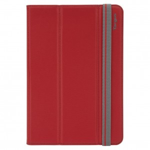 Targus THZ58903EU Fit 'N' Grip Universal Stand Case Cover Fits 7-8 Inch Tablets - Red