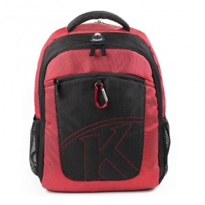 "Kingsons Laptop Backpack 15.6"" KS6062W-R-Red"