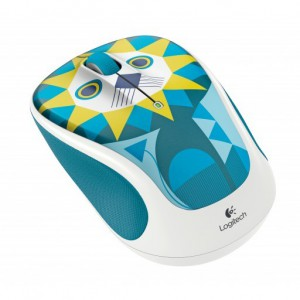 Logitech 910-004475 M238 Luke-Lion Wireless Mouse with USB Nano Reciever 1000DPi