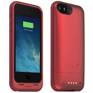 Mophie Juice Pack Air Protective Battery Case for iPhone SE/5S/5 - Red
