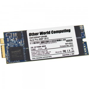 OWC 480GB Aura 6G Solid State Drive for MacBook Pro with Retina Display (OWCSSDA12R480)