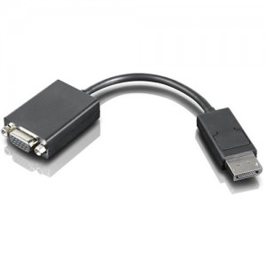 Lenovo Accessories Display Port to VGA Monitor Cable (1.8m)