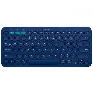 Logitech 920-007583 K380 Multi Device Bluetooth Keyboard-Blue