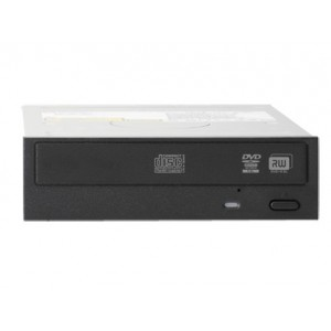HP Half-Height SATA DVD-RW JackBlack Optical Drive (624192-B21)