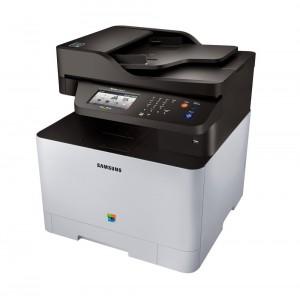 Samsung SL-C1860FW A4 Colour 4-in-1 Printer - NFC, Print/Copy/Scan/Fax