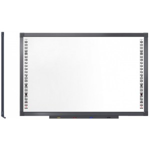 Mecer 84″ Multi-touch Interactive Whiteboard (IWB) with Interwrite Software Suite 2 Pens Included