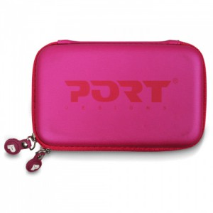 Port Designs Colorado Universal 2.5'' HDD (Hard Drive) Case-Pink