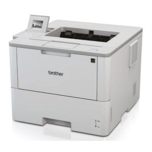 Brother HLL6400DW High-Speed Monochrome Duplex Laser Printer with Wired and Wireless Network Capability (3YR Onsite)