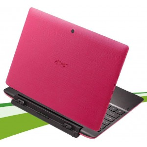 Acer Aspire Switch 10 E 10.1'' WXGA Multi-Touch Intel Atom Z3735F Win 10 Home (Pink)