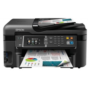 Epson WF-3620DWF 20ppm A4 Colour 4in1 Lan Wifi Duplex Fax Multifunction Laser Printer
