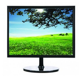 "Mecer 19"" 4 x 3 TFT LED Monitor, 1280 x 1024, W/HDMI & Built-in Speakers - Black"