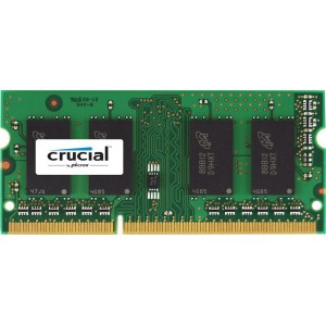 Crucial Technology 2GB SODIMM DDR3 Notebook Memory Module (CT25664BF160BA)