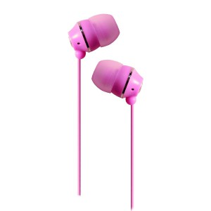 Jivo Jellies - Noise Isolating Earphones - Pink