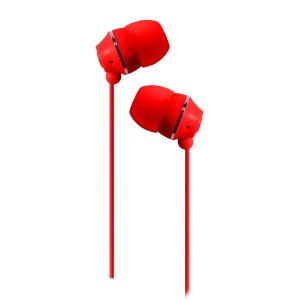 Jivo Jellies - Noise Isolating Earphones - Strawberry / Red