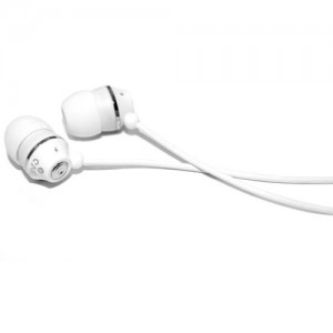 Jivo Jellies - Noise Isolating Earphones  -Vanilla/White