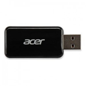 Acer WirelessProjection-Kit UWA3 (Black) USB-A EURO type 802.11 b/g/n Realtek 8192CU (P1285B/P1385WB)