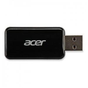 Acer WirelessProjection-Kit UWA3 (Black) USB-A EURO type 802.11 b/g/n Realtek 8192CU (P1285B/P1385WB)